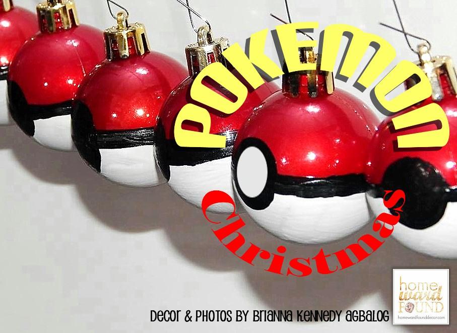 Pokemon Christmas Ornaments.A Pokemon Christmas Tree Homewardfound Decor