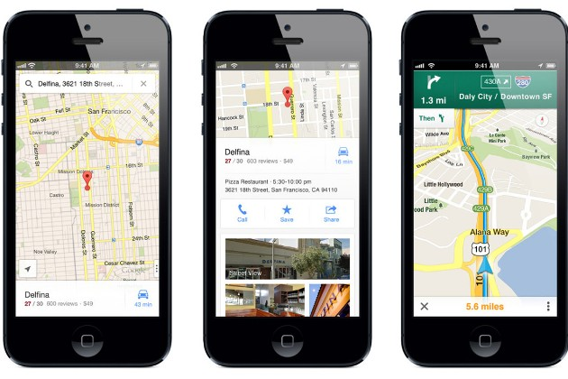 Waze vs Google maps vs Apple maps