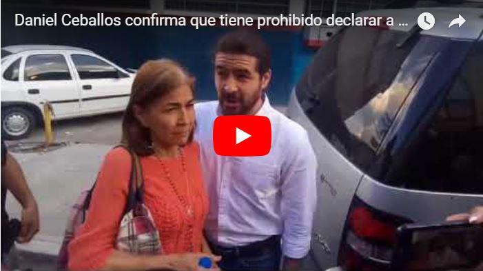 Daniel Ceballos confirma que el régimen los obliga a callar - Entonces, Libertad?