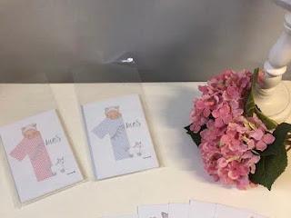 NOVEDAD : tarjetas para fotos de bebés