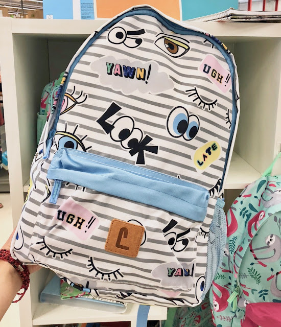 Staples Back to School - Eyes Pattern Backpack
