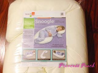 snoogle-孕婦抱枕開箱