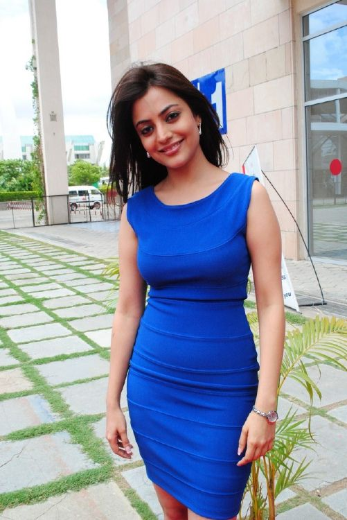 Telugu Actress Nisha Agarwal @ Hot Candids Hot Stills