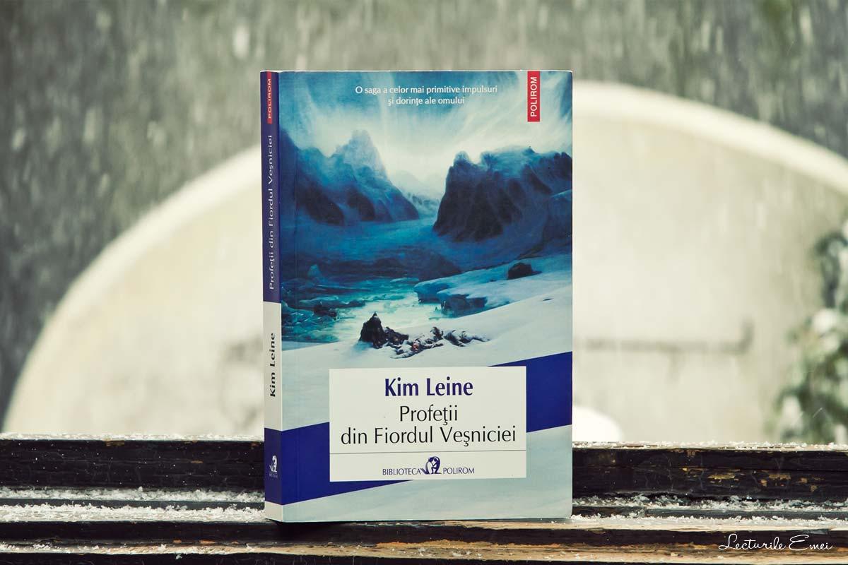 recenzie carte Profeții din Fiordul Veșniciei de Kim Leine