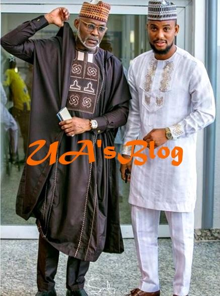 Nollywood Actor, RMD For President? Alexx Ekubo Shower Praises On The Veteran Actor