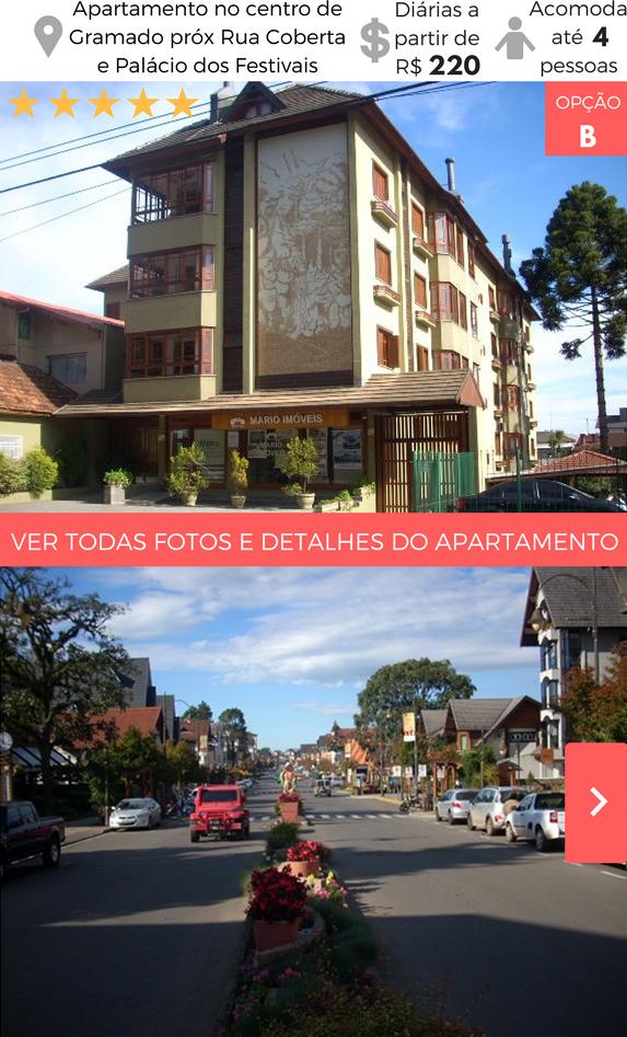 Apartamento de Aluguel por Temporada em Gramado