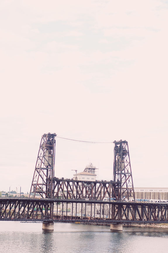 2 days in Portland steel bridge