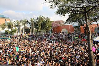IMG 9929 - 13ª Parada do Orgulho LGBT Contagem reuniu milhares de pessoas