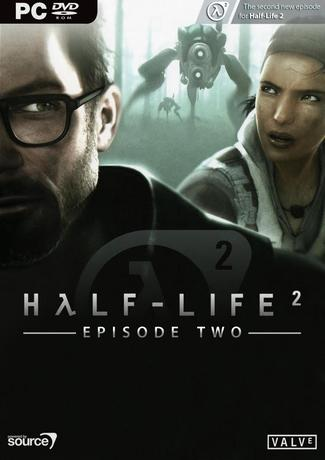 Half Life 2 - Episode 2 PC Game Cover Art