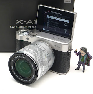 Kamera Fujifilm X-A10 Lens 16-50mm Fullset