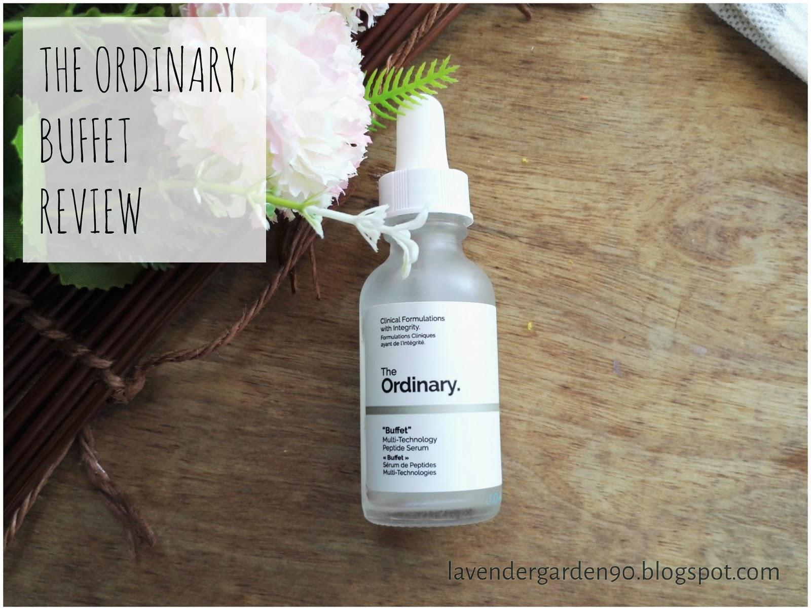 Carolyn S Lavender Garden Review The Ordinary Buffet
