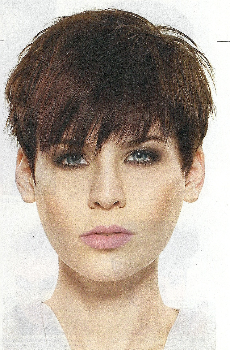 Hairstyles Popular 2012: Cool Cropped Pixie Hairstyle For