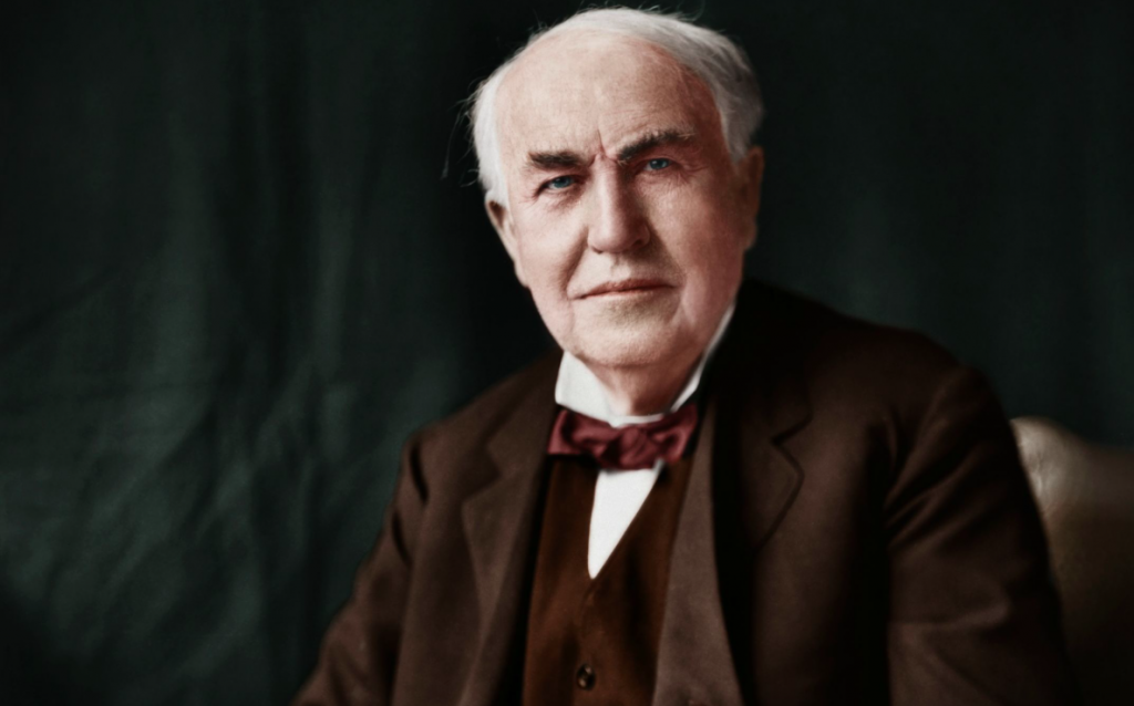 Kata Kata Bijak Thomas Alva Edison
