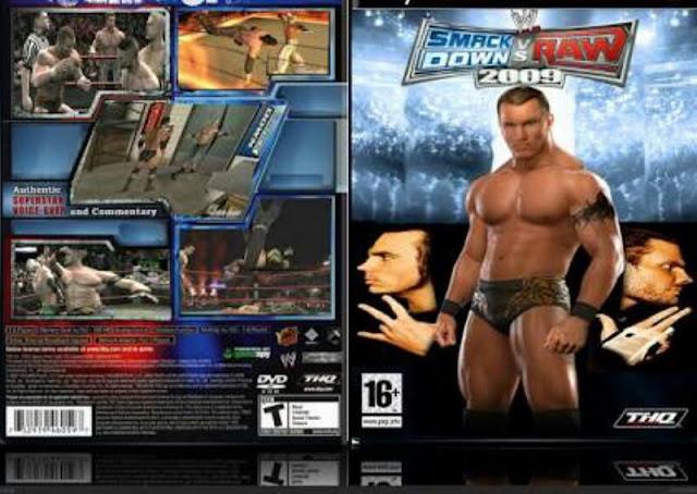 تحميل لعبة  WWE 2009 للكمبيوتر من ميديا فاير