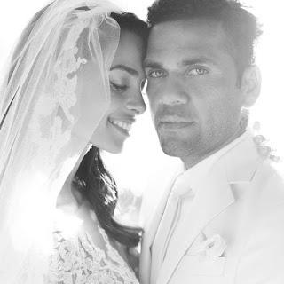 Casamento secreto de Daniel Alves