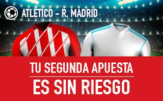 sportium promocion 10 euros Atletico vs Real Madrid 18 noviembre