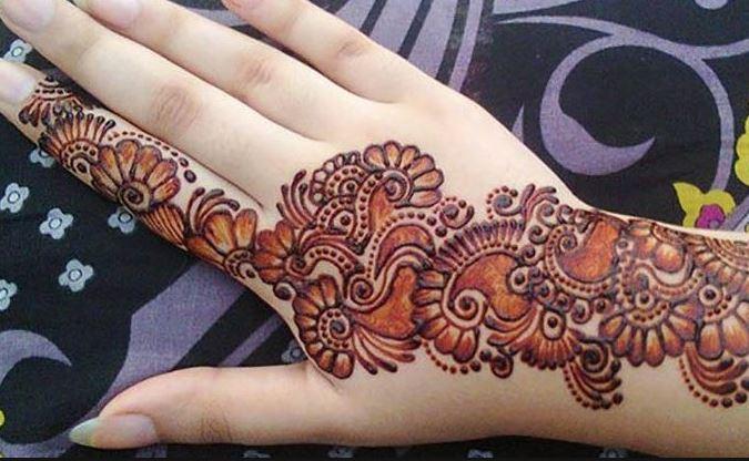 new mehndi designs 2018   new henna designs collection