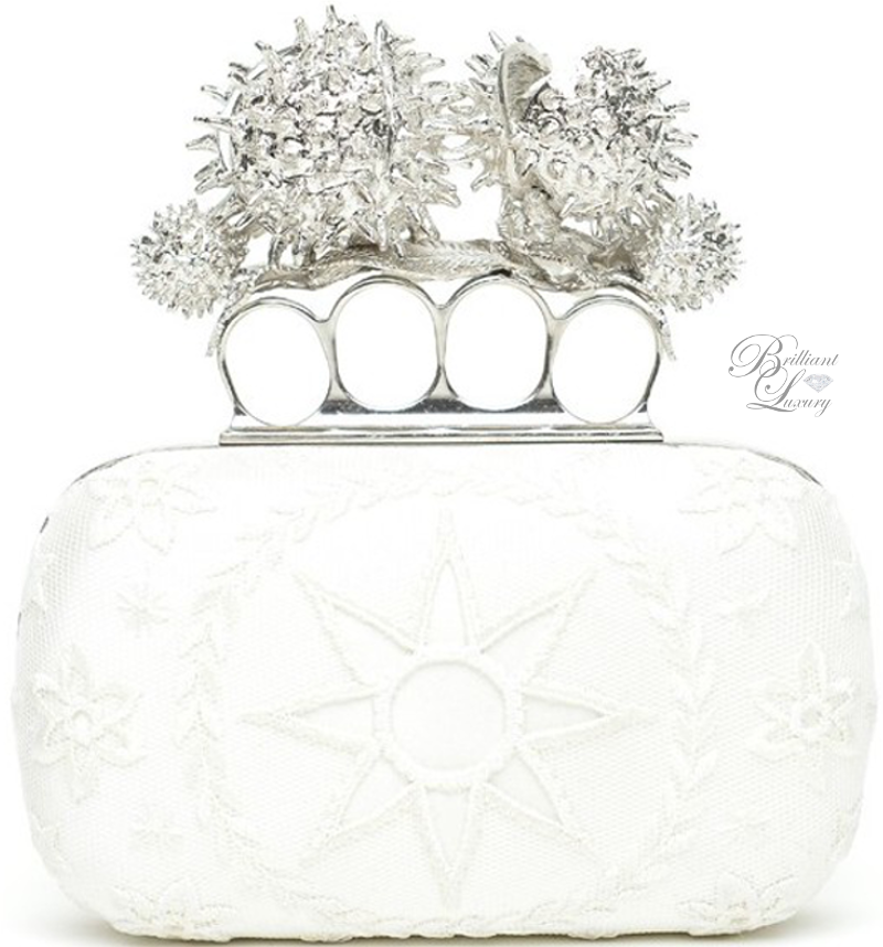 Brilliant Luxury ♦ Alexander McQueen Clutch
