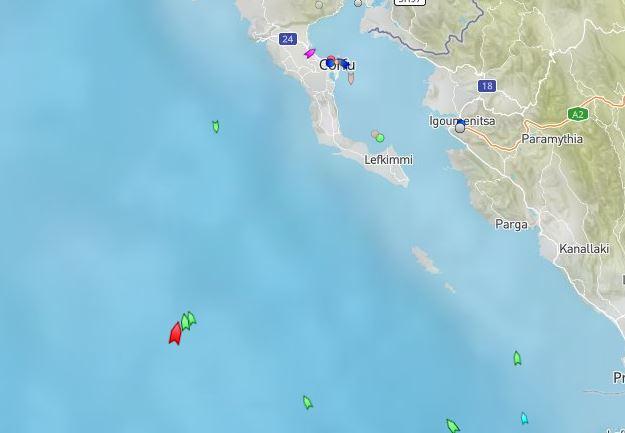 Εντοπίστηκε το σκάφος με περίπου 110 παράτυπους μετανάστες δυτικά των Παξών
