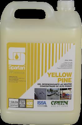 YELLOW PINE - Gel Limpiador desengrasante pH Neutro