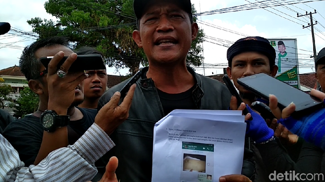 Cerita Aktivis Anti Korupsi di Blitar Dapat Foto Sampul Surat Palsu KPK