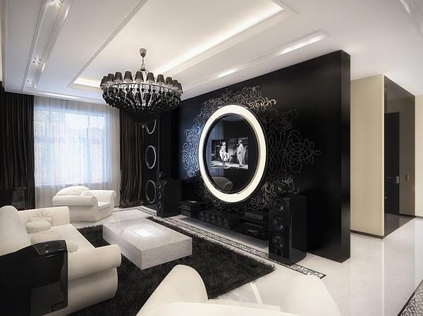 Hogares frescos dise o de interiores moderno y lujoso con for Diseno de interiores vintage