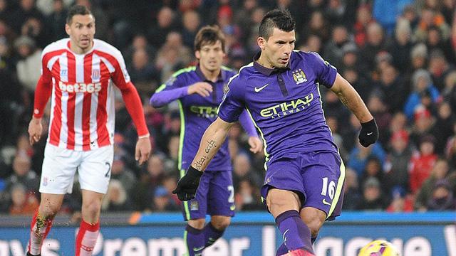 [Video] Cuplikan Gol Stoke 1-4 Manchester City (Liga Inggris)