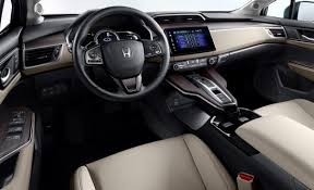 2018 Honda Clarity Plug-In Hybrid interior