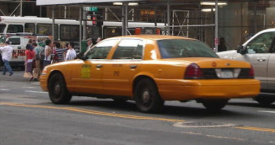 Taxi Ford in New York