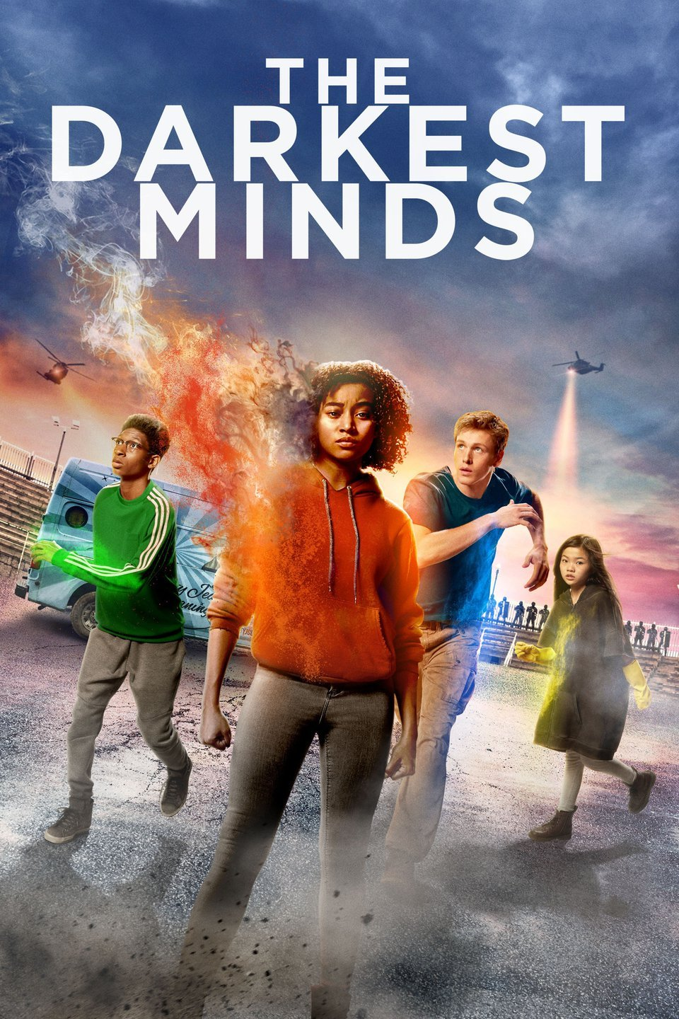 The Darkest Minds (2018) ORG Dual Audio 720p BluRay