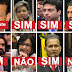 Deputados do AP que votaram pela permanência de Temer.