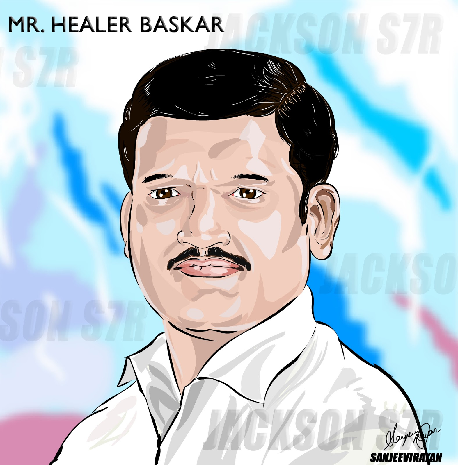 Digital Painting - Healer Baskar | Jackson S7R Animations