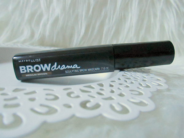Maybelline BROWdrama Sculpting Brow Mascara - Medium Brown - 7.6ml - 8.99 Euro