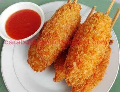 Foto Resep Sempol Mie Telur Tepung Panir atau Tepung Roti Lembut dan Empuk Sederhana Spesial Asli Enak Untuk Dijual