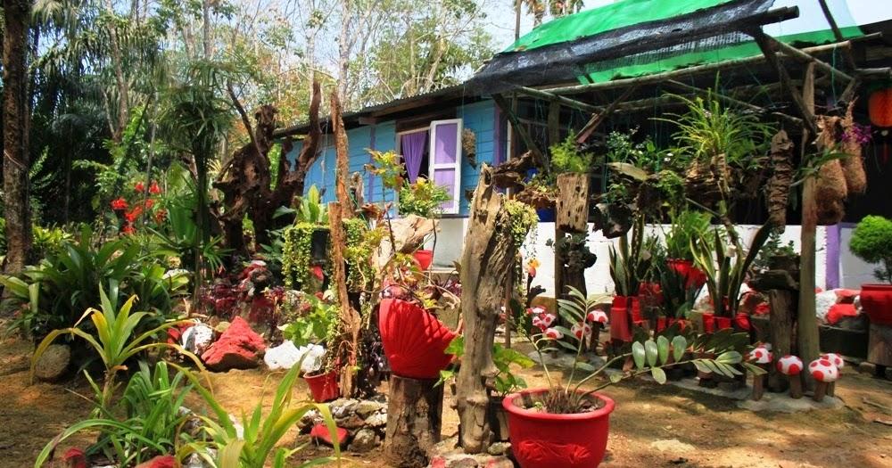 37 Hiasan Halaman Rumah Kampung Inspirasi Terbaru