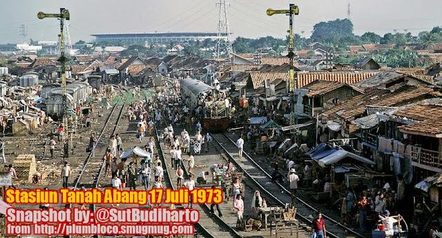 Kerata Api 1970-an dan Penumpang Bonek Jakarta