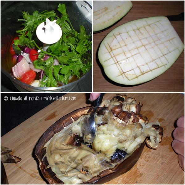 Melitzanosalata (salsa di melanzane greca)