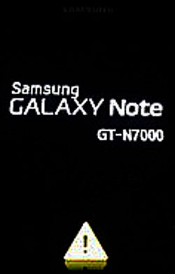 How To Remove Yellow Triangle On Samsung Boot Up