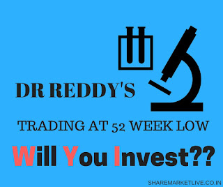 Dr Reddy's Laboratories Stock Trading At 52 Weeks Low