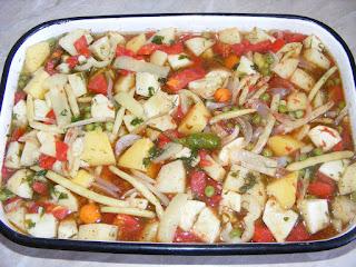Preparare legume la cuptor reteta,