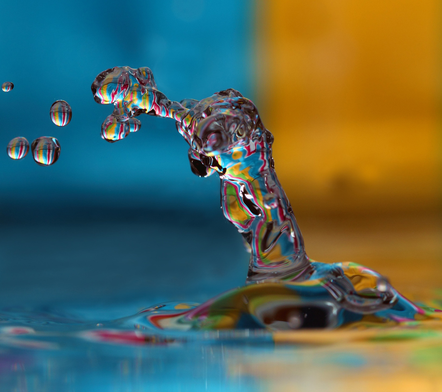 Colorful Water Splash Samsung Galaxy S3 Wallpaper Hd Wallpapers 9to5wallpapers