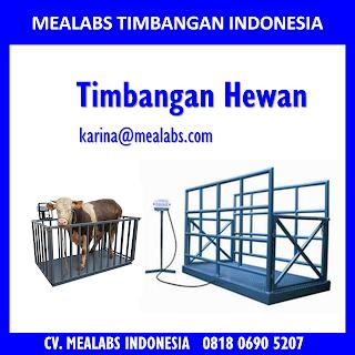 Jual Timbangan Hewan atau animal scale Mealabs Timbangan Indonesia