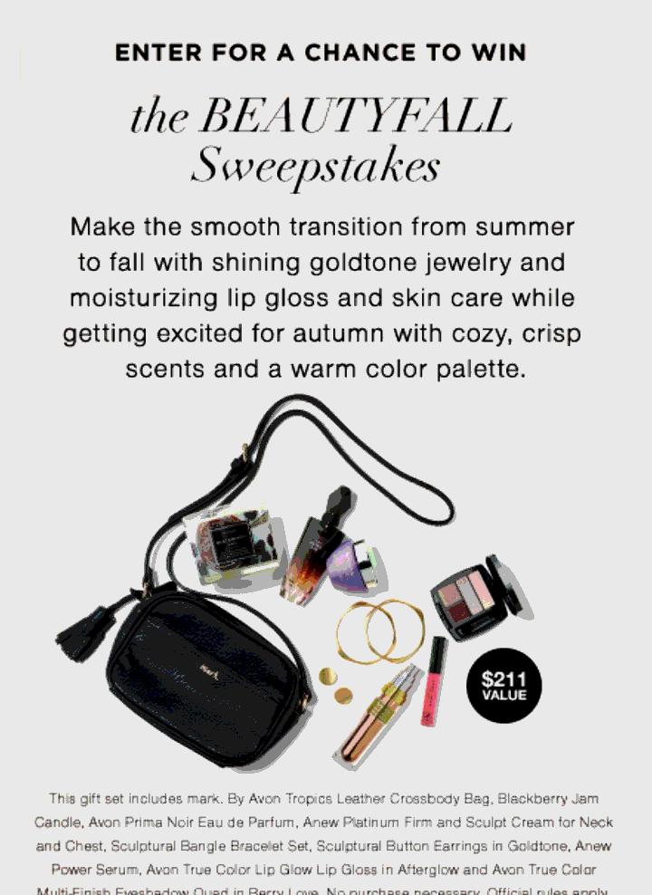 Fragrance, Jewelry and Girl Stuff Online Marketing: Avon