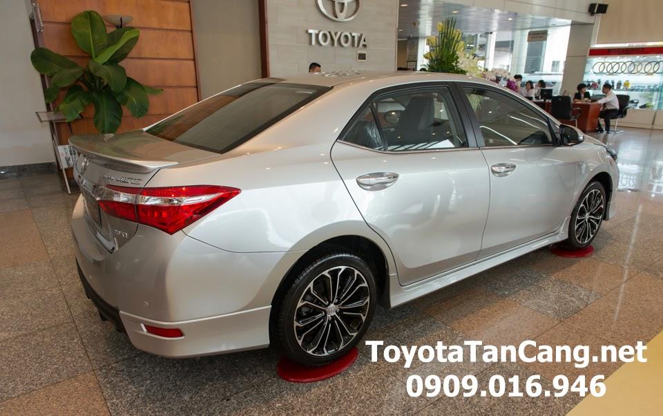corolla altis 20 v toyota tan cang 11 - Đánh giá Toyota Corolla Altis 2.0V CVT 2015 - Giá trị đến từng chi tiết - Muaxegiatot.vn