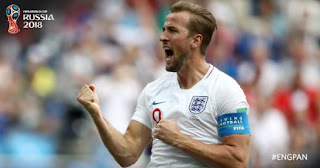 Daftar Top Skorer Piala Dunia 2018: Harry Kane Memimpin
