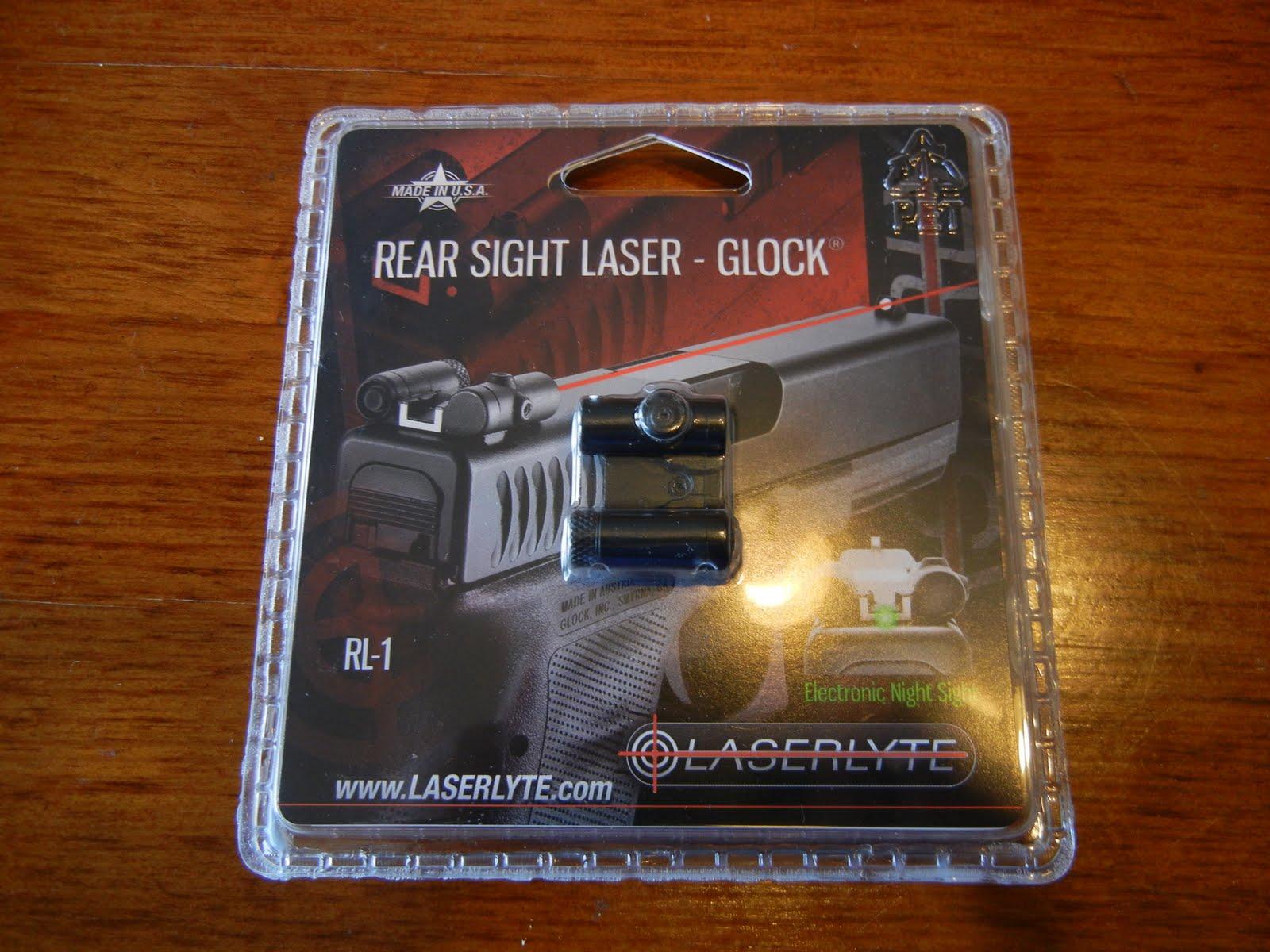 Review: LaserLyte Rear Sight Laser for Glock - Gunmart Blog