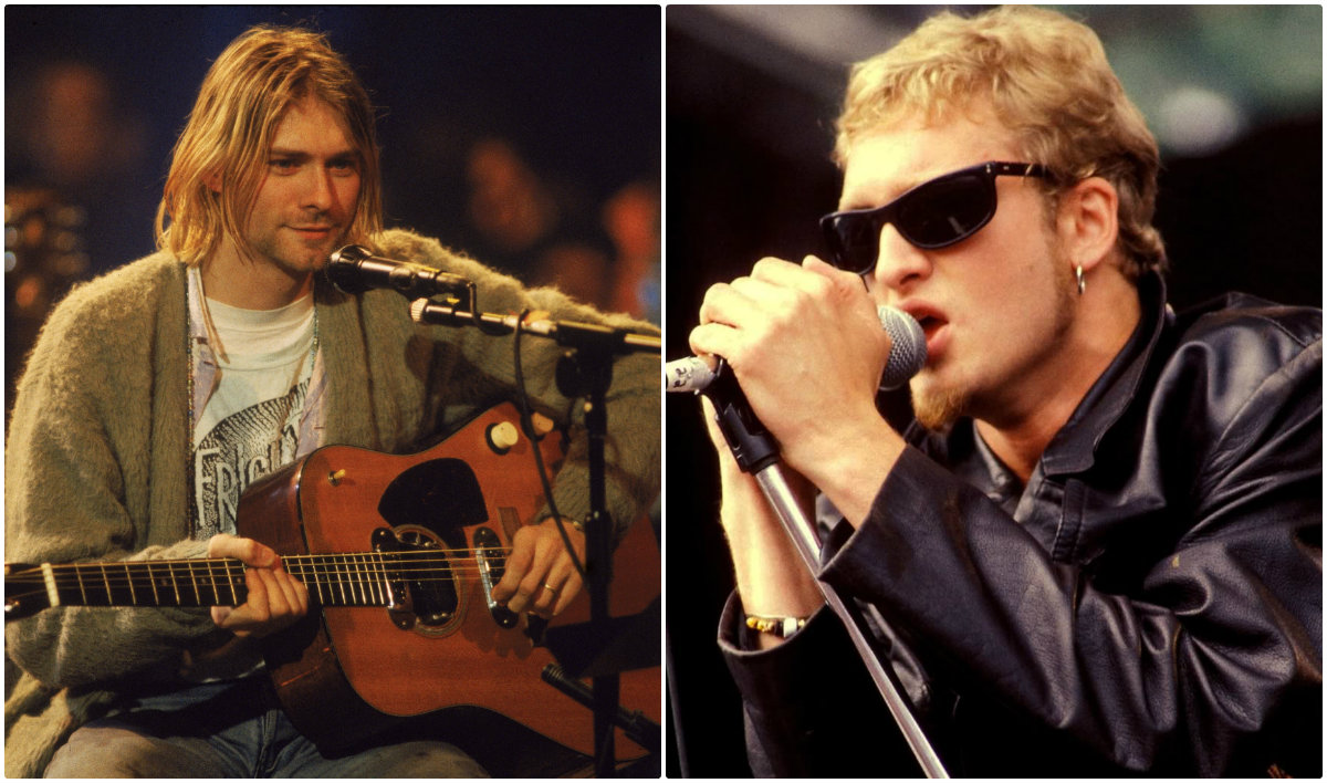 Kurt cobain and layne staley