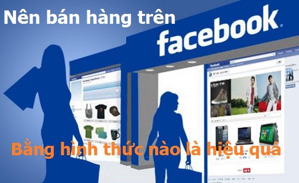 kiếm tiền online, ban hang tren facebook,