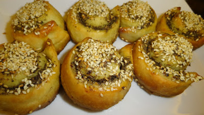 Lebanese man'oushe roll recipe