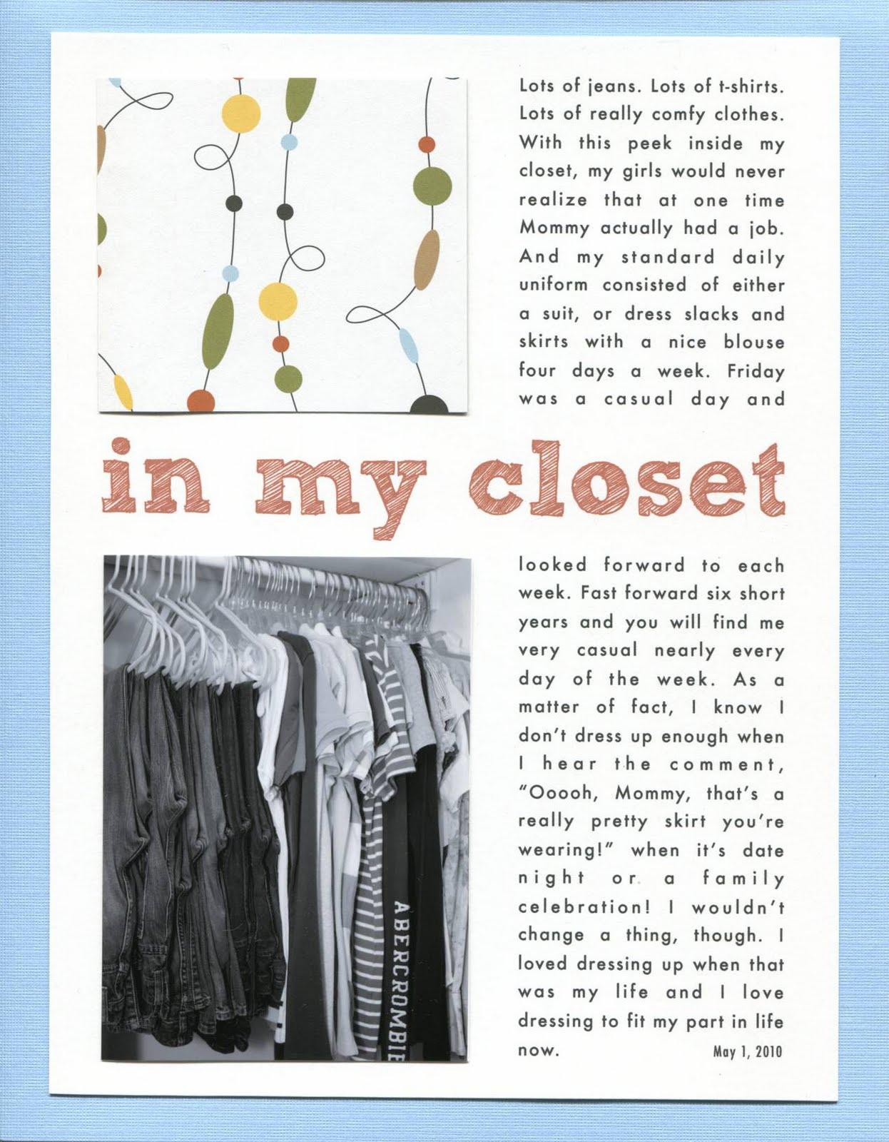 In My Closet | iloveitallwithmonikawright.com